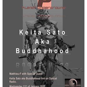 Planet Underground with Keita Sati 11-01-2017