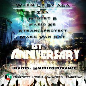 XTranceproyect @MexicoInTranceFirstAnniversary