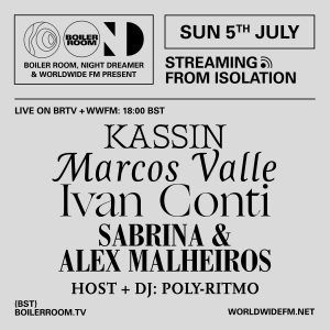 Streaming From Isolation: Marcos Valle // 05-07-20