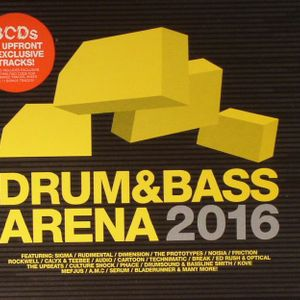 Drum and Bass Arena 2016 mixed by maco42