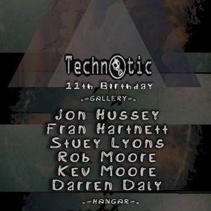 Kev Moore - Warm Up Set for Technotic's 11th Anniversary at Hangar 02/12/16