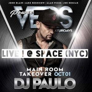 DJ PAULO LIVE ! @ SPACE (NYC) October 01, 2016