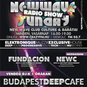 New wave sunday radio show 019 - fundacion