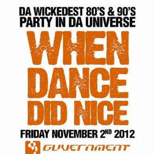 When Dance Did Nice 11 Promo CD
