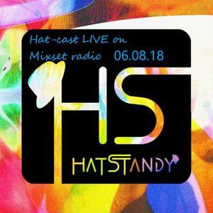 Hat-cast live on Mixset radio 08.06.18