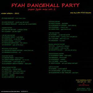 SUPER FYAH MIX vol.2 - FYAH DANCEHALL PARTY