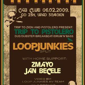 zmayo - live dj set - trip to pistolero - cabclub 06.02.2009.