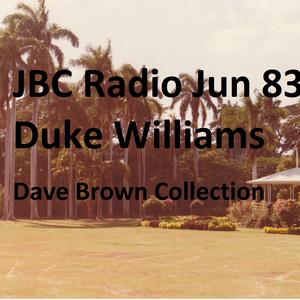 JBC Radio host Duke Williams & Owen  Brown June 1983  (Dave Brown Collection) Canada