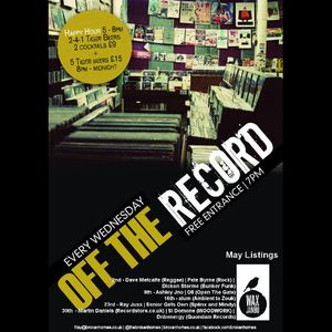 Off The Record - 9th May 2012 - Ashley