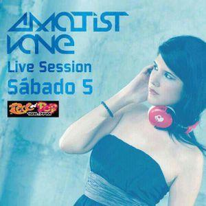 Amatist Vane  - Live at Rock n Pop 106.7 (Panamá)
