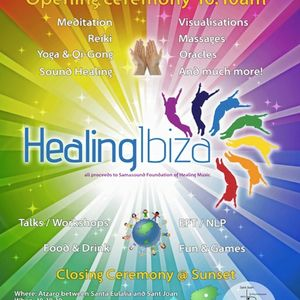 Nikos Akrivo's Music for Meditation,Live at Healing Ibiza Day,Atzaro on 10-10-10.