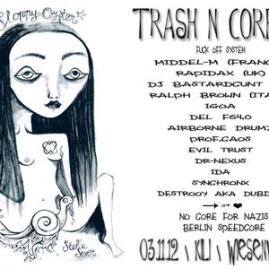 Synchronx Live @ Trash N' Core - 3.11.2012 Berlin KILI Club