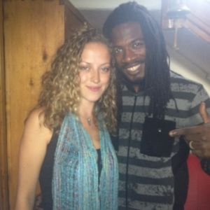 Interview with Gyptian on Peace FM 90.1 (Lauren Stripling, 25 June 2012)