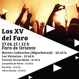 Radio Faro entrevista a Bandula el día 27 de Junio 2015 con motivo de Los Xv del Faro. 90.1 fm Latit
