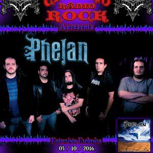 Programa Cangaço Rádio Rock - Entrevista com a Banda Phelan (03.10.2016)