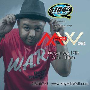 MikiWAR - Christmas Gift Mix - DJcity Podcast 12/19/12