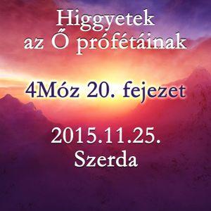 [BLOCKED] 136. - 4Moz 20. fejezet - 2015.11.25. Szerda