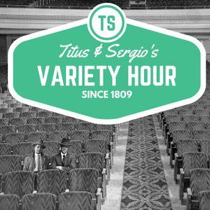 Titus and Sergio's Variety Hour: Kyrigos, Olympics and monkey jockeys