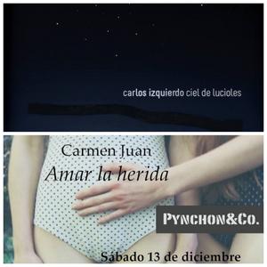 11-12-2014 Carlos Izquierdo Ciel de Lucioles. Carmen Juan Amar la herida.