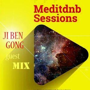 MeditDnB Sessions episode 37 Ji Ben Gong Exclusive Mix @Blackduckradio (20/02/17)