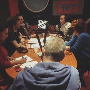 48Fm. KULT en radio - 105.0MHz  (09/02/2016)  Émission spéciale droit des arts