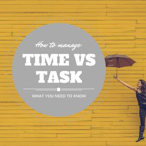 Time vs Task Management