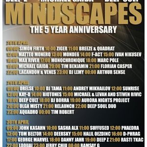 Sunrise - Mindscapes 5 Years Anniversary Guest Mix On Pure.FM (30.April.2012)