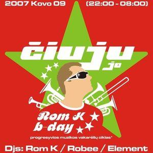 07. Dj Robee & Dj Element 2007.03.09 (Ciuju Jo # 20 @ Men's Factory)