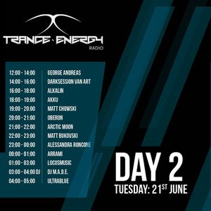 Oberon @ Trance-Energy Radio 3rd Anniversary