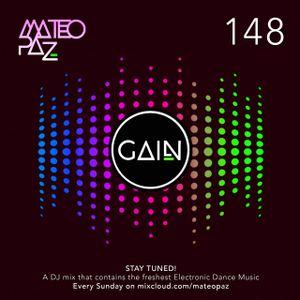Mateo Paz - Gain vol.148