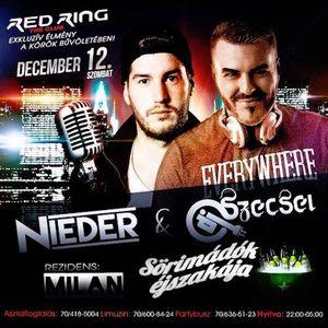 2015.12.12. - RED RING Jászberény - Saturday