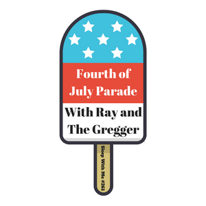 Sleepy Fourth of July Parade with Ray and the Gregger |from  Sleep With Me #261
