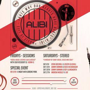 Alibi - Sessions - Fri 5th Jan - DJ Adam G Part 2