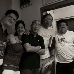 Visita al programa Melodias en el tiempo, con Augusto Blanca