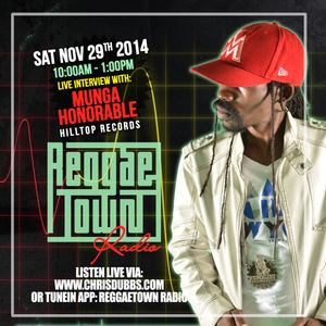 REGGAETOWN RADIO - NOVEMBER 29, 2014