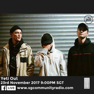 SGCR Radio Show #19 - 23.11.2017 Episode ft. Yeti Out