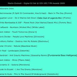 Martin Evolvah - DJ Set - 2009 ICR FM Awards - Ipswich Town Centre Labour Clubb