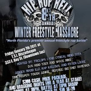 hip hop hell presents 8th annual winter freestyle battle