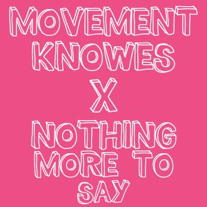 Movement Knowes X Nothing More to Say Promo mix by The Craigie Cartel
