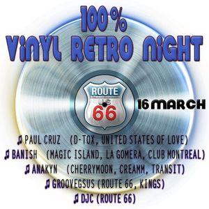 GROOVEGSUS @ ROUTE 66 RETRO VINYL NIGHT 16.03.13 (1)