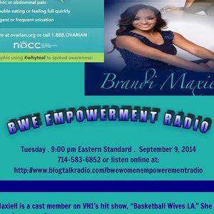 Basketball Wives Reality personality Brandi Maxiell - hear her story