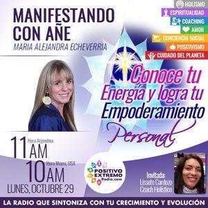 MANIFESTANDO CON AÑE-10-29-2018-Conoce tu energía y logra tu empoderamiento personal