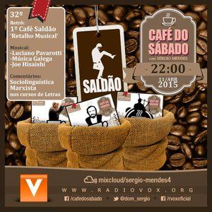 Café do Sábado 32 - Saldão