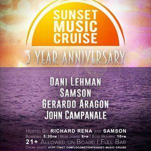 Live @ Sunset Music Cruise