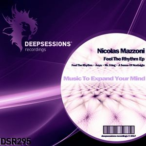 DSR295 Nicolas Mazzoni - Feel The Rhythm Ep