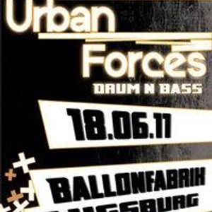 Urban Forces warmup