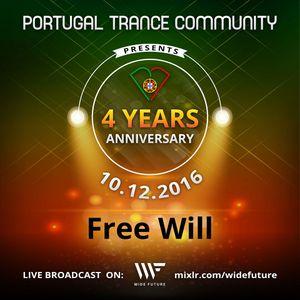 Free Will - 4 Years of PTC