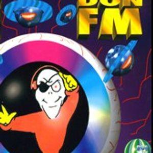 DJ Ninja & the Funky T on the Don 105.7 FM 1993 London