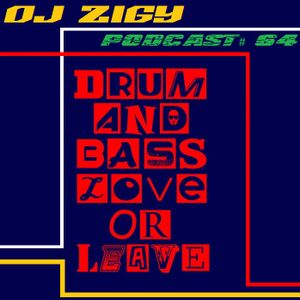 DJ ZIGY PODCAST #64 DRUM N BASS LOVE OR LEAVE