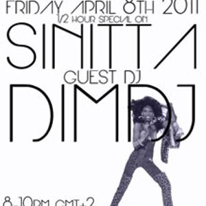 08-04-2011 Dancing Madly Backwards hosted by DJGirl | SINITTA-dimdj